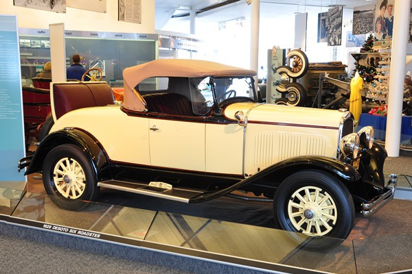 1929 DeSoto Six Roadster