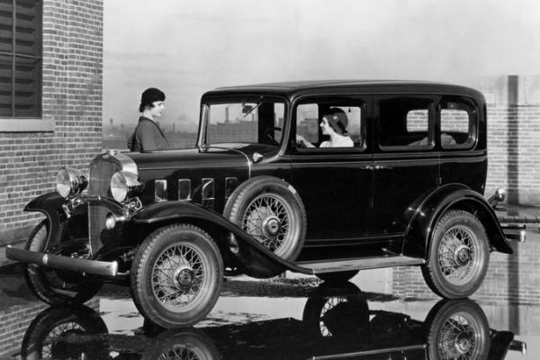 1932 Chevrolet Deluxe four-door sedan