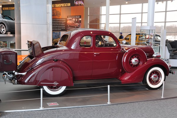 1935 Plymouth PJ Deluxe Rumble Seat Coupe