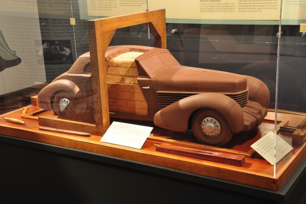 1936 Cord 810 quarter scale clay model