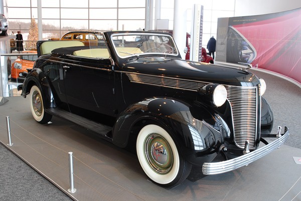 1937 DeSoto Convertible Coupe