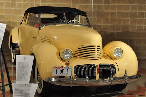1939 Hupmobile Skylark Convertible