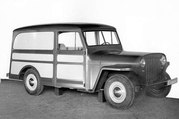 1945 Willys Station Wagon proposal