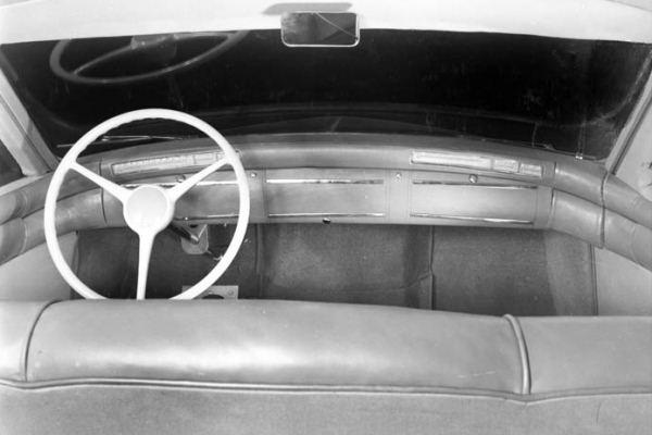 1946 Kaiser dash mockup