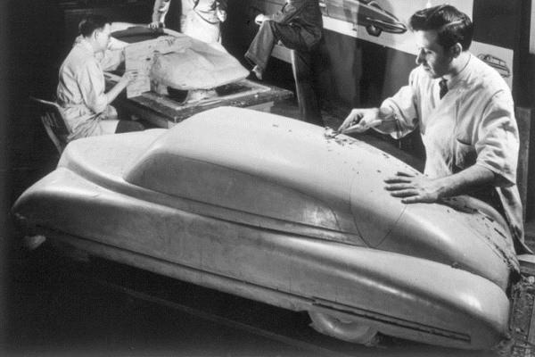1948 General Motors clay modelers