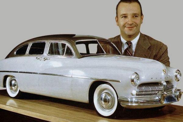 1949 Mercury clay model