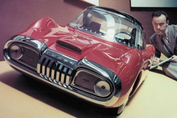1950 Ford Muroc clay model