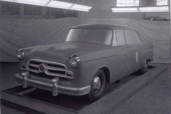 1955 Checker clay proposal