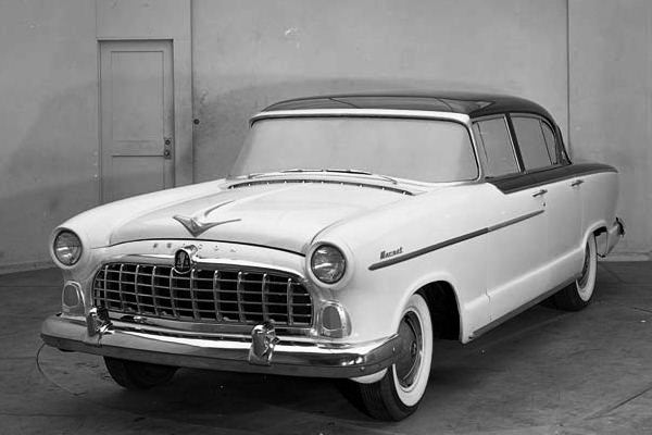 1955 Hudson Hornet clay proposal