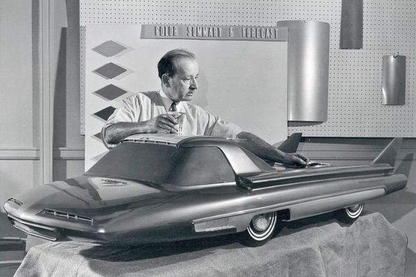 1957 Ford Nucleon in studio