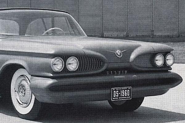 1960 Desoto clay proposal c1957