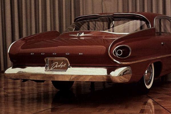 1961 Dodge Dart clay proposal c1958