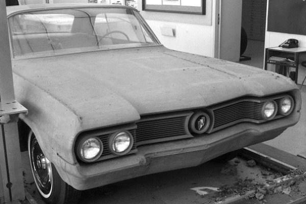 Buick clay proposal circa 1963