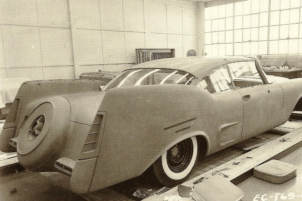 Chrysler 300 clay proposal 1957