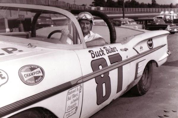 Buck Baker 87 1958 Chevrolet zipper top