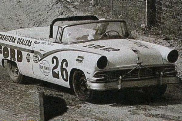 Curtis Turner 26 1956 Ford dirt