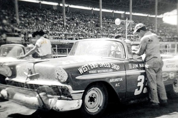 Jim Massey 33 1956 Chevrolet