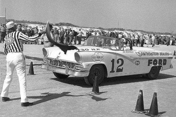Joe Weatherly 12 1956 Ford