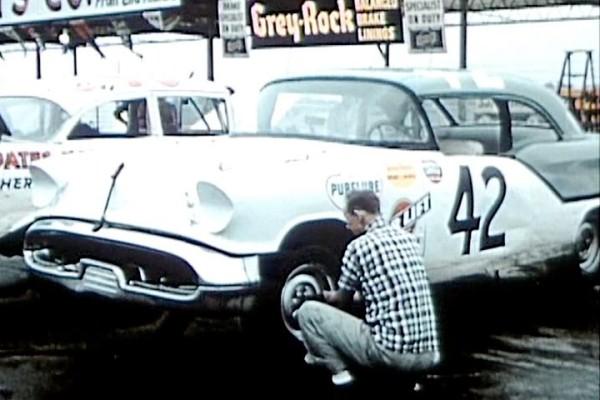 Petty Engineering 42 1957 Olds zipper top Darlington 1958