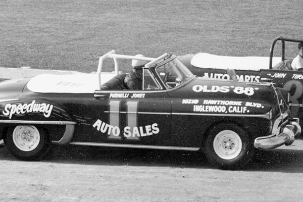 11 Parnelli Jones Olds convertible c1957