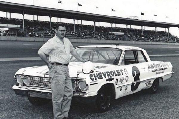 3 Junior Johnson Chevrolet Daytona 1963