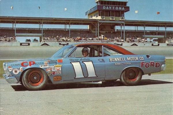 Mario Andretti 11 Fairlane Daytona