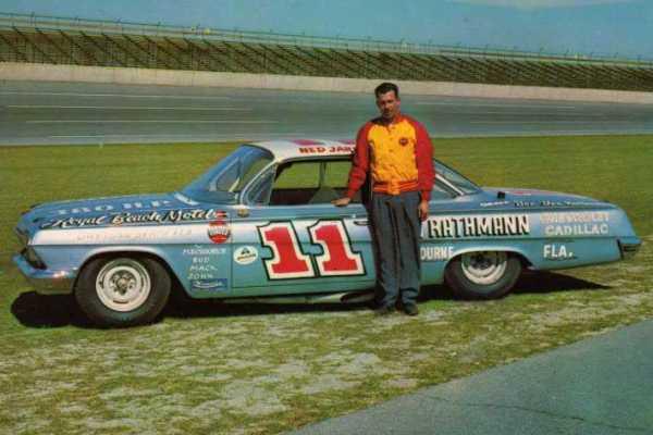 Ned Jarrett 11 1962 Chevrolet Daytona