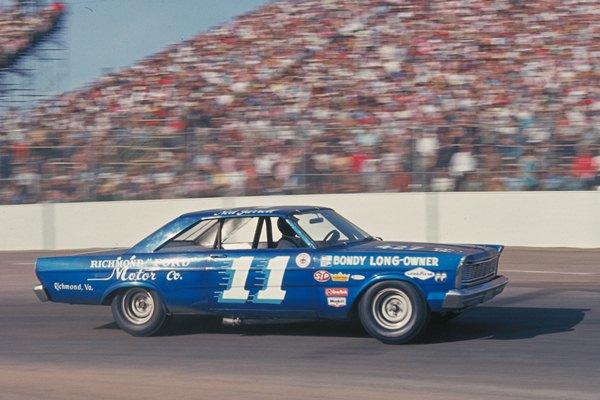 Ned Jarrett 11 1965 Ford Riverside