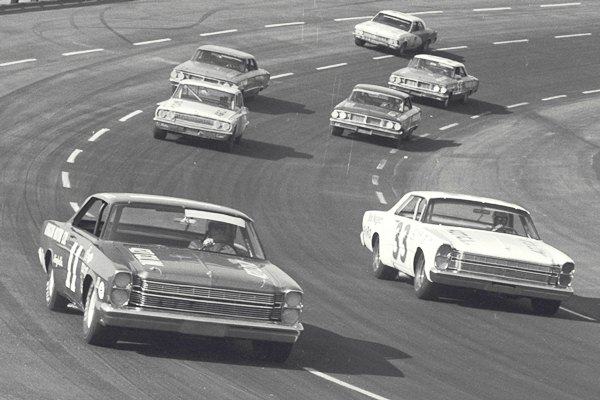 Ned Jarrett 11 1966 Ford Rockingham 500