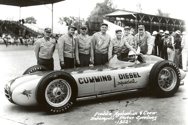 1952 Kurtis Fred Agabashian  Cummins Diesel Special