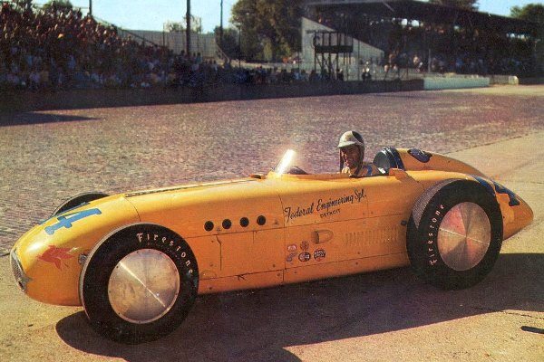 1955 Kurtis KK500D Freddie Agabashian Federal Engineering Special
