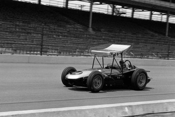 1962 Watson Jim Rathman Simoniz Smokey Yunick wing car