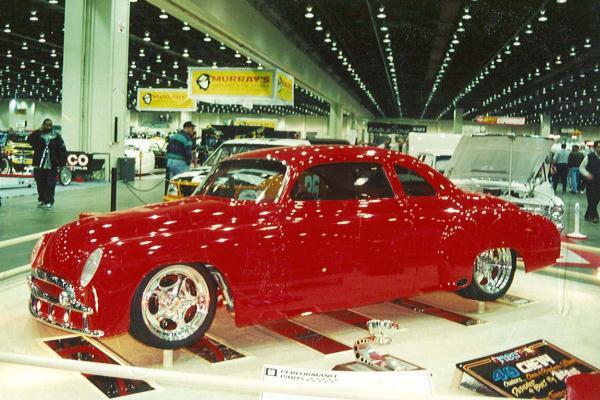 2001 Chris Williams 1949 Chevrolet Coupe M-80