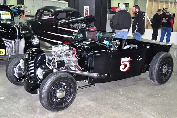 Model A Ford roadster pickup