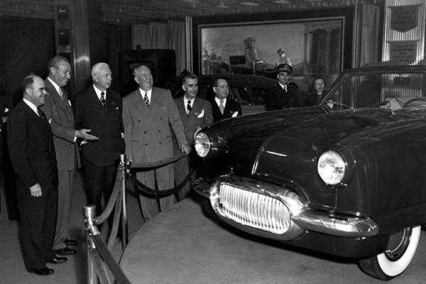 1950 Nash NXI Chicago Auto Show