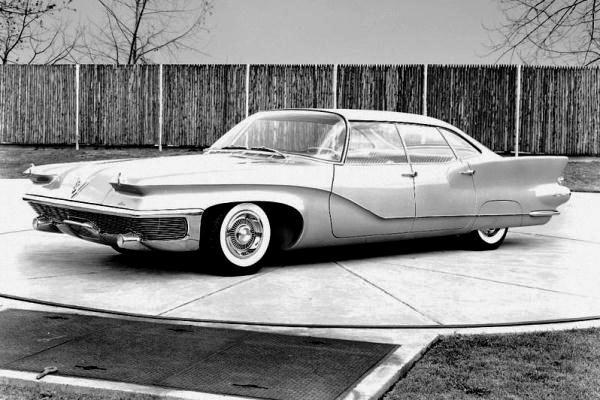 1958 Chrysler Imperial d'elegance