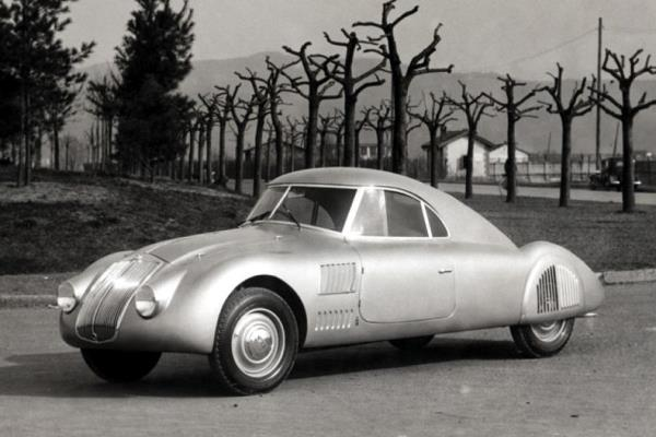 1937 Lancia Aprilia aerodynamica coupe