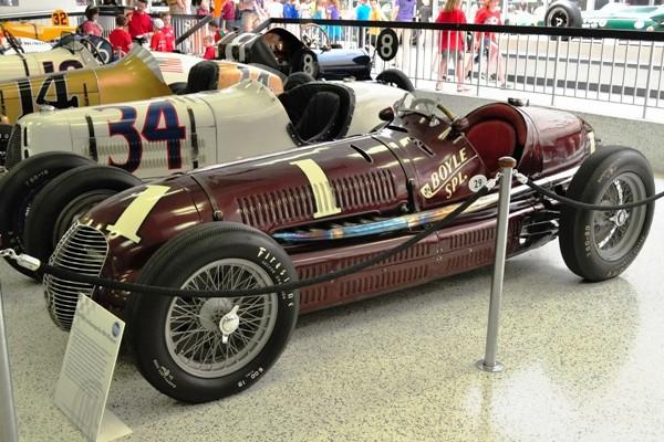 1939 Maserati 8CTF 1939-40 Indy 500 winner Wilbur Shaw