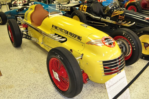 1950 Kurtis-Offy Indy 500 winner Johnnie Parsons