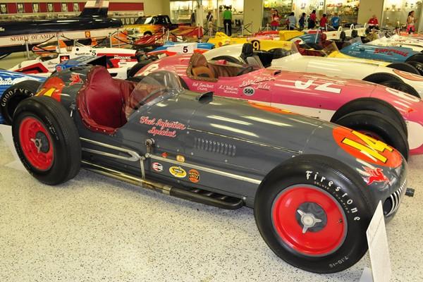 1953 Kurtis-Offy 53-54 Indy 500 winner