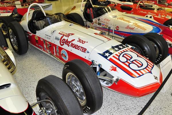 1962 Watson Indy 500 winner Rodger Ward