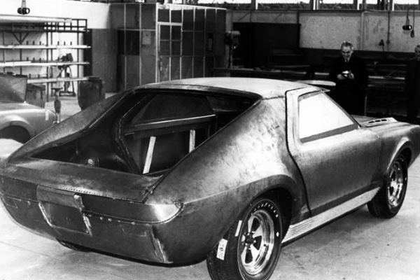 1966 AMC AMX Vignale under construction