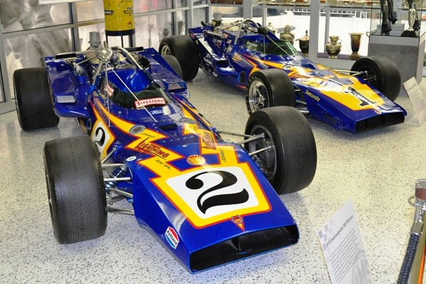 PJ Colt-Fords 1970 and 1971 Indy 500 winners