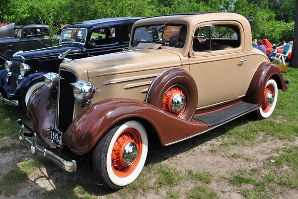 1935 Chevrolet Master Coupe Arthur Sumeracki