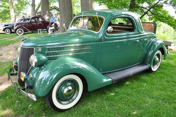 1936 Ford three-window Coupe Francis Fisher