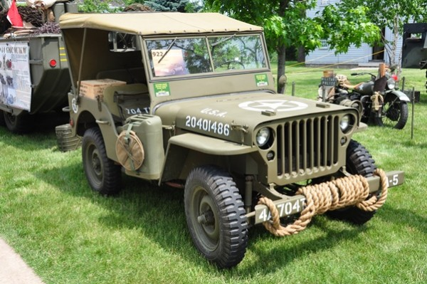 1945 Willys Jeep Frederick Roberts