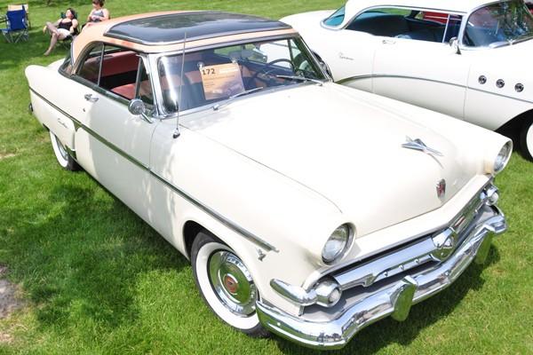 1954 Ford Victoria Crestline Skyliner plastic roof Bruce Covert
