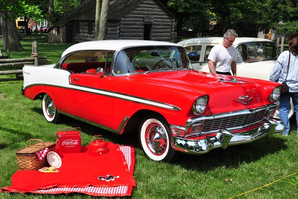 1956 Chevrolet Bel Air Sport Coupe Diane Dignan