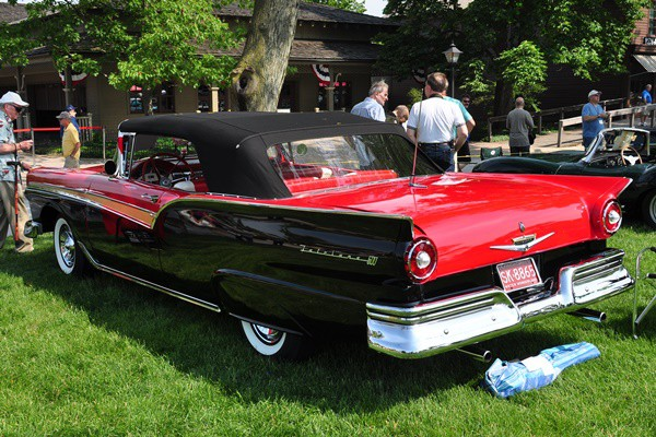 1957 Ford Fairlane 500 Convertible Mark Coleman
