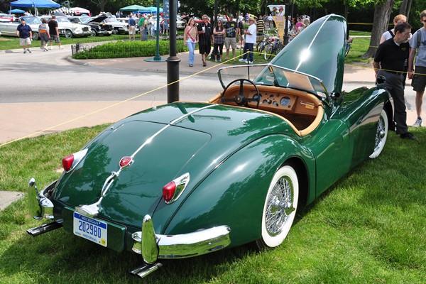 1957 Jaguar XK140 MC Bruce Schofield
